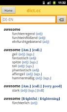 dict.cc+ dictionary-3
