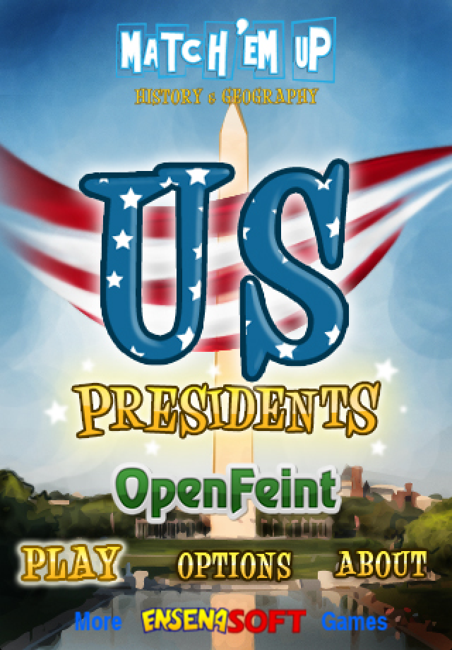 US Presidents (Match