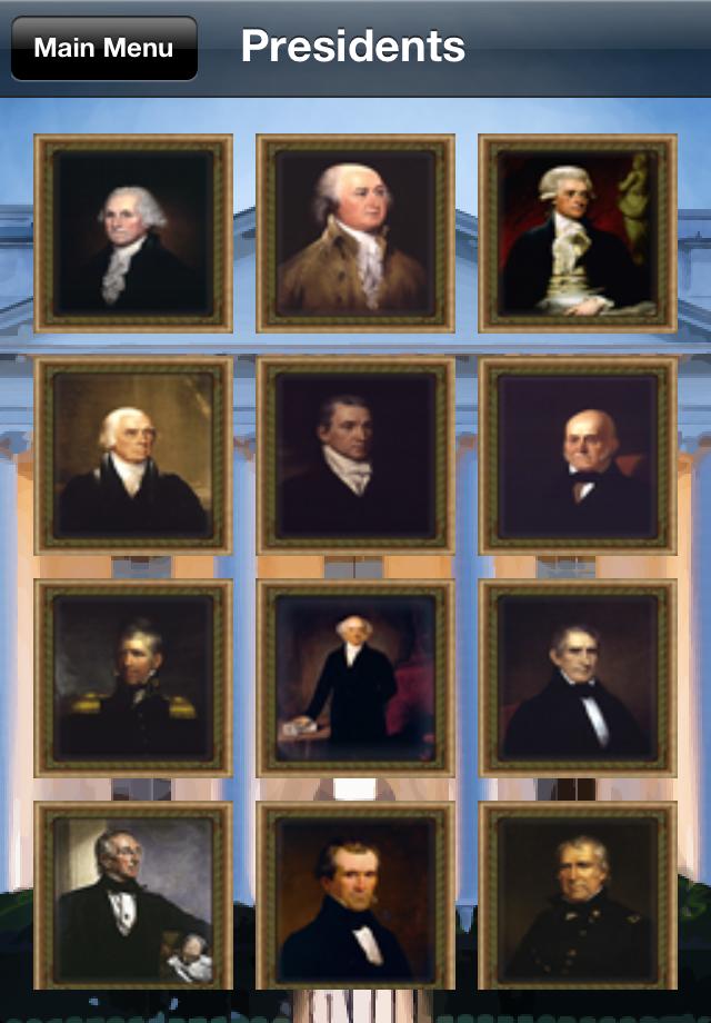 US Presidents (Match
