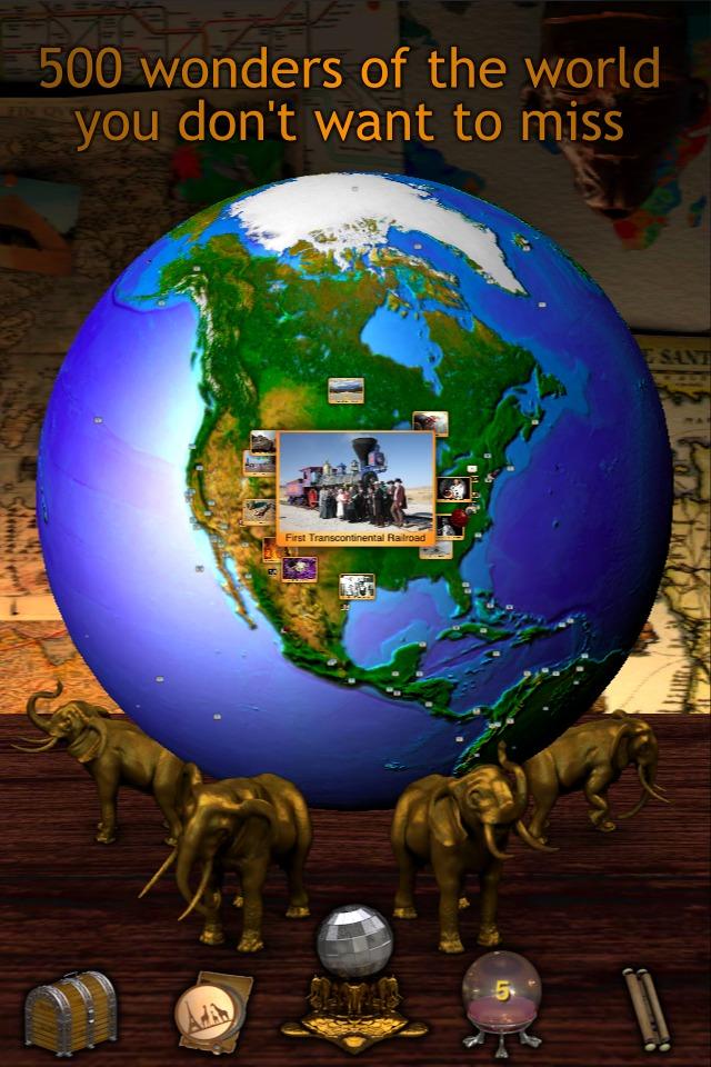 Geo Walk HD - 3D World Fact Book-1