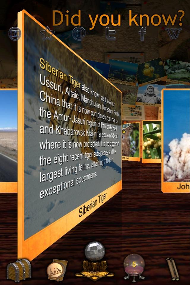 Geo Walk HD - 3D World Fact Book-3