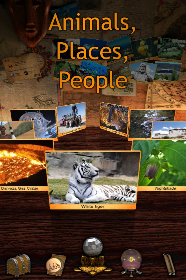 Geo Walk HD - 3D World Fact Book-4