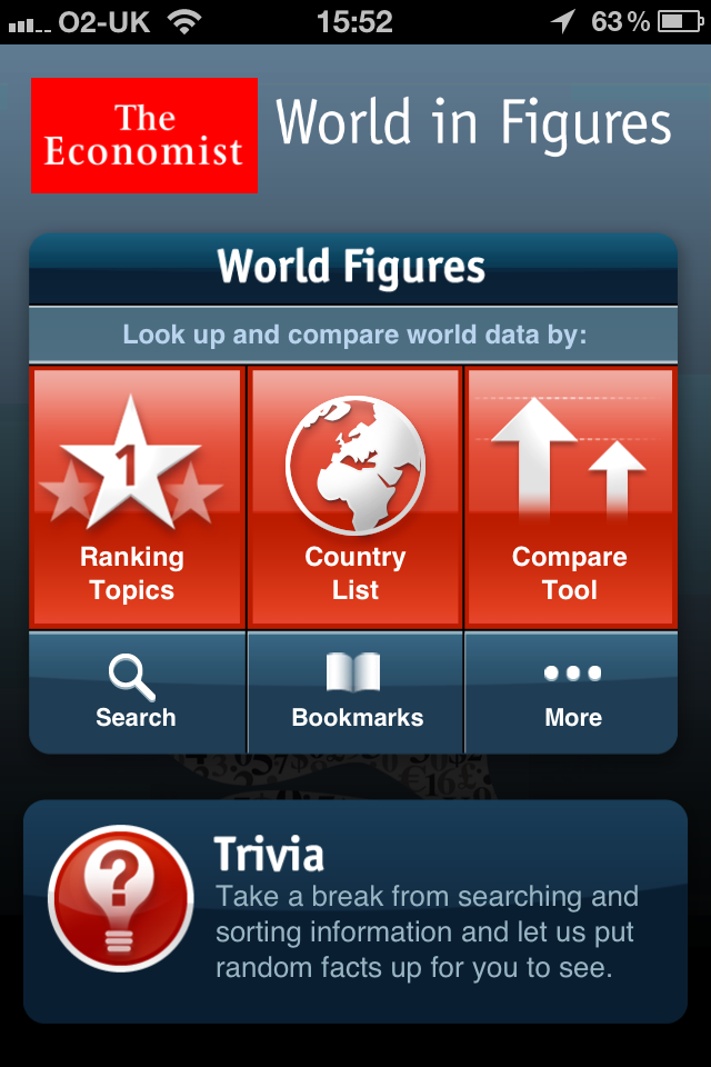 The Economist World in Figures iPhone edition-1
