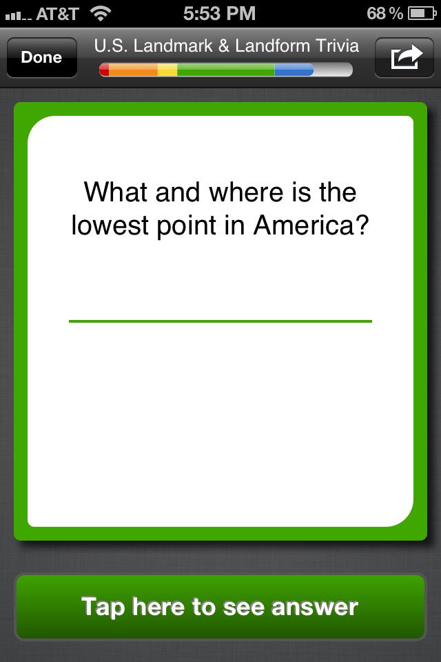 U.S. Geography *