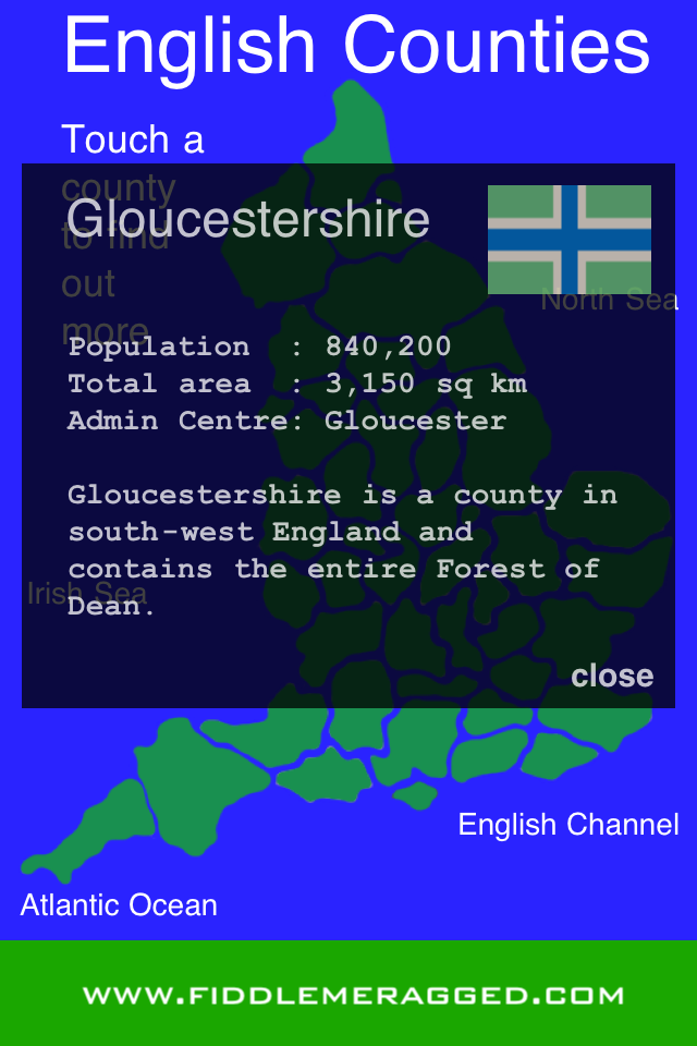 English Counties App - 3