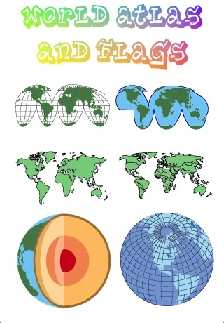 World Atlas and Flags-4