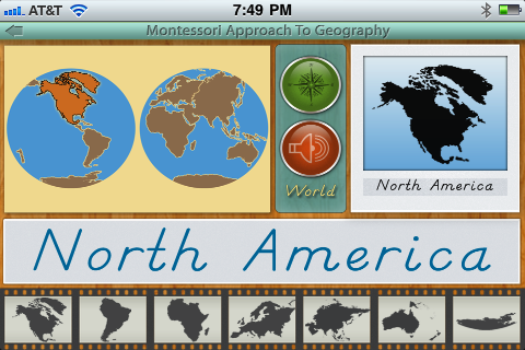 Montessori Approach To Geography - Continents
