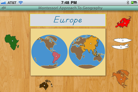 Montessori Approach To Geography - Continents-5