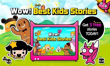 Wow! Best Kids Stories App - 1