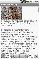 Western Art History Guide App - 4