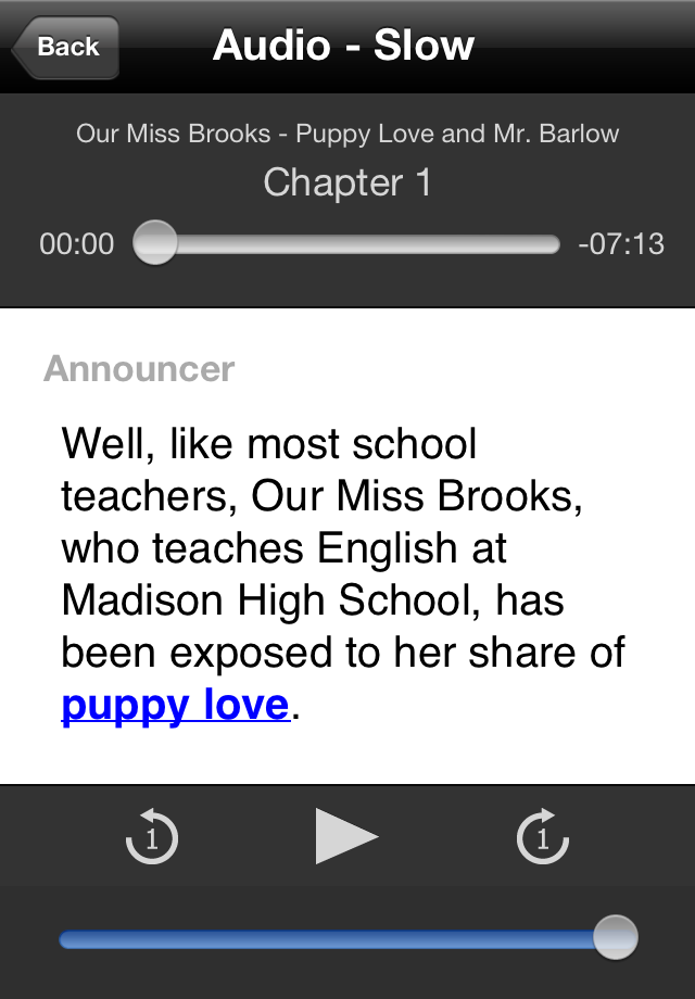Learn English by Radio: Our Miss Brooks - Episode 117: Puppy Love and Mr. Barlow-1