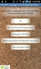 PRAXIS II E/MCE LA/Reading-1
