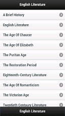 English Literature App - 2