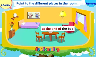 Prepositions of Place for Kids App - 1