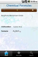 Chemical Formulas App - 4