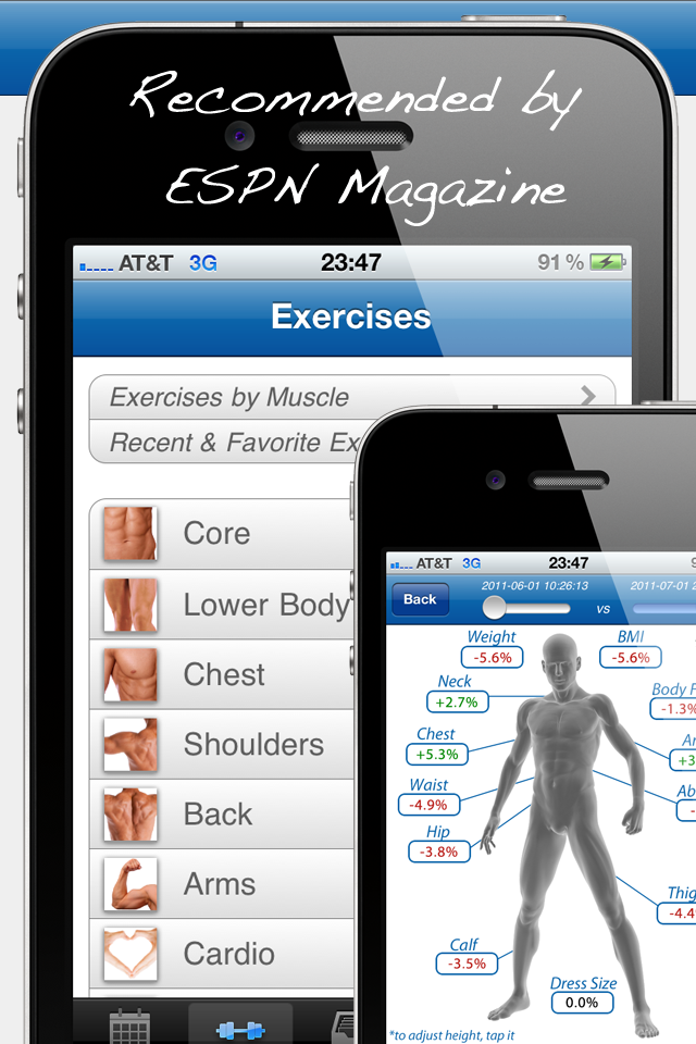Fitness Buddy : 1700+ Exercise Workout Journal-1