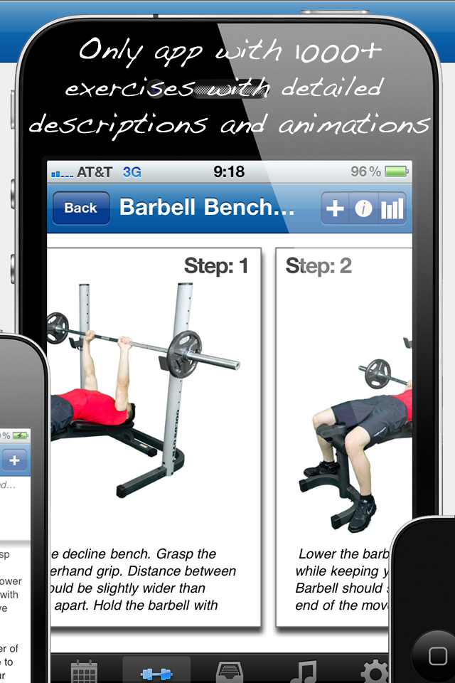 Fitness Buddy : 1700+ Exercise Workout Journal-3