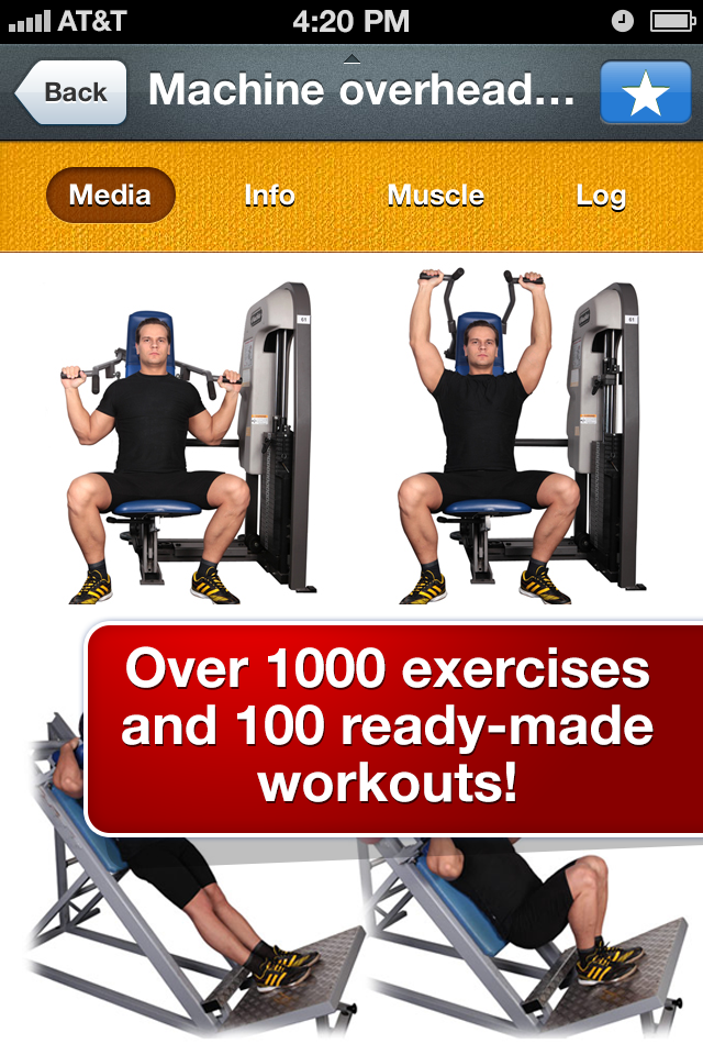 All-in Fitness: 1000 Exercises, Workouts & Calorie Counter-2