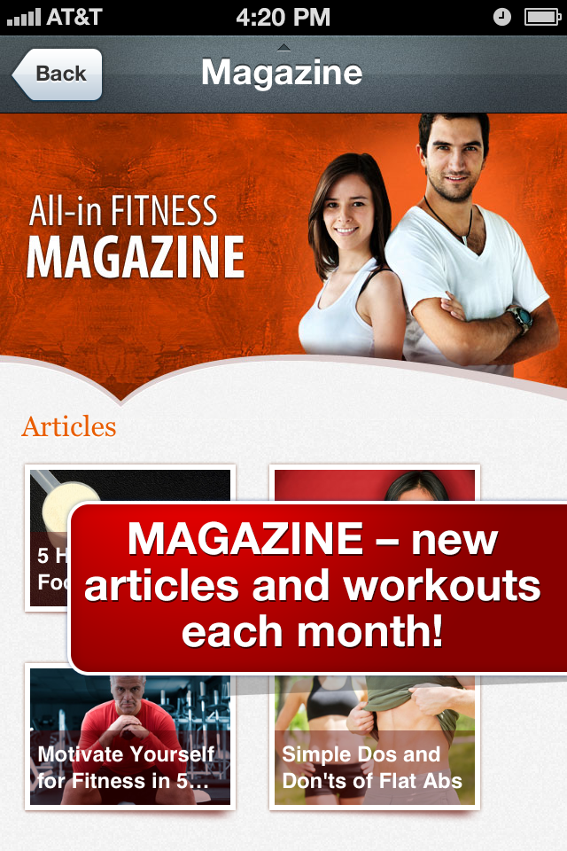 All-in Fitness: 1000 Exercises, Workouts & Calorie Counter-4
