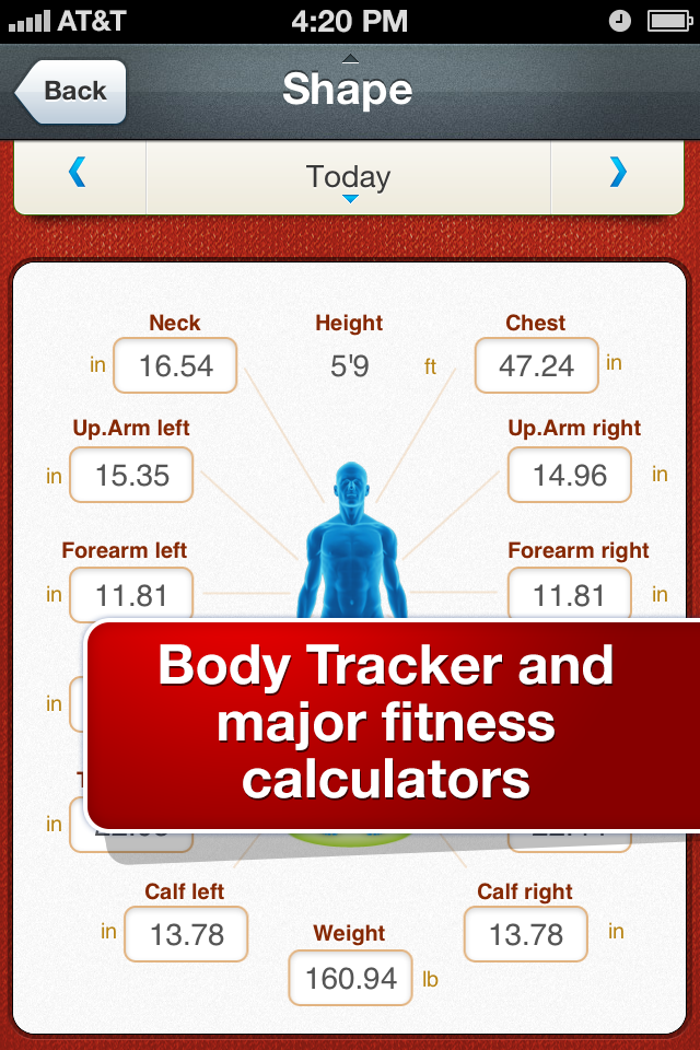 All-in Fitness: 1000 Exercises, Workouts & Calorie Counter-5