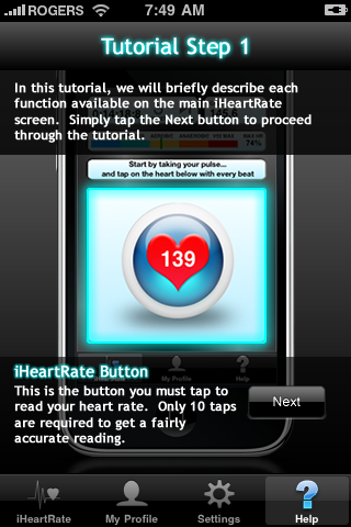 iHeartRate - for health, wellness, fitness and workouts-5
