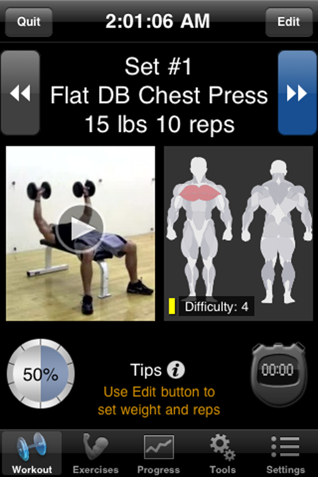 iPersonalTrainer - Fitness Workouts-1
