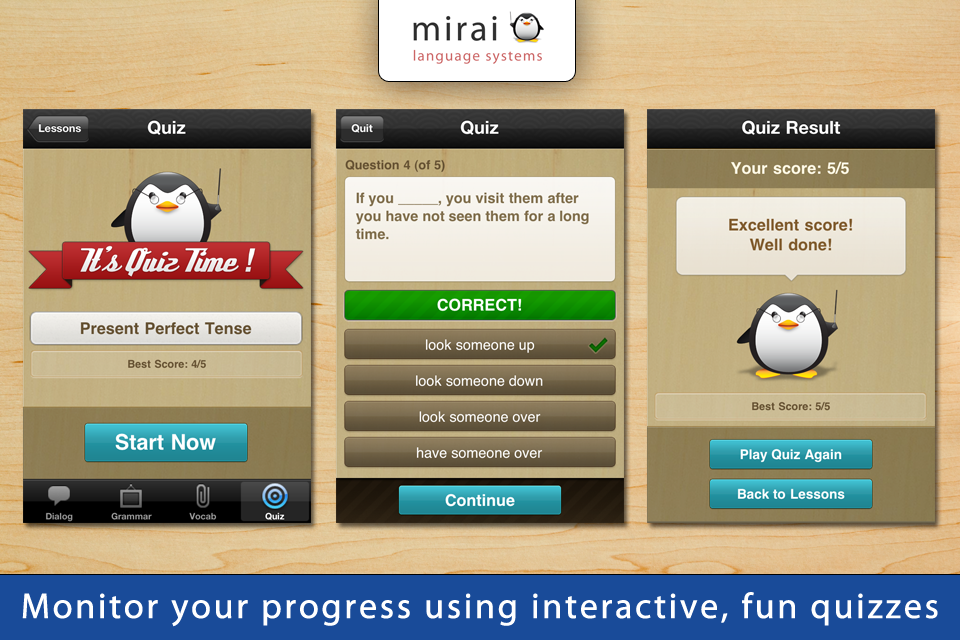 10 Minute English - Mirai English (Mirai Language Systems)