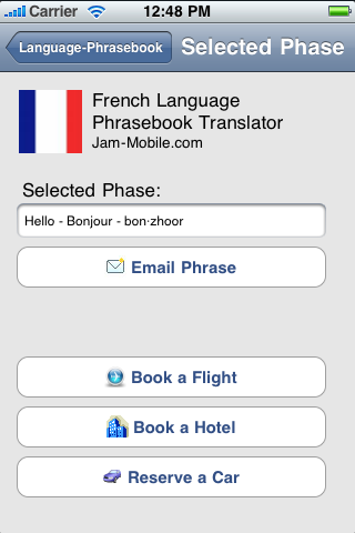 English-French Language Translator Phrasebook-3