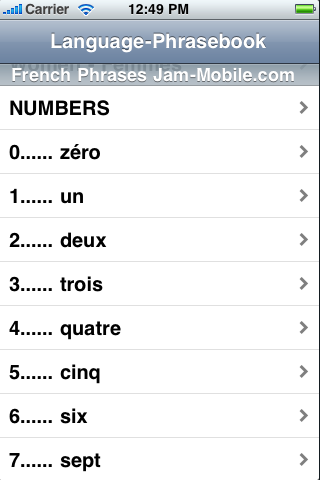 English-French Language Translator Phrasebook-5