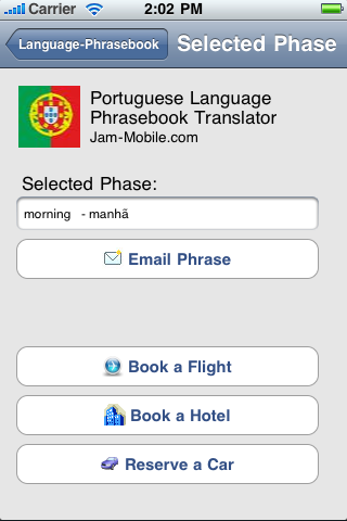 English-Portuguese Language Translator Phrasebook with 1700 Word Dictionary-3