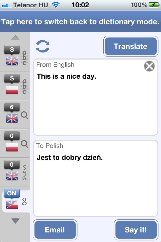 Polish English Dictionary and Translator (Słownik polsko – angielski)-6