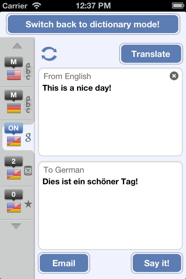 German English Dictionary & Translator-3