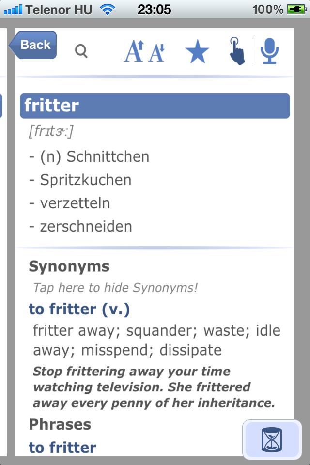 German English Dictionary & Translator-5
