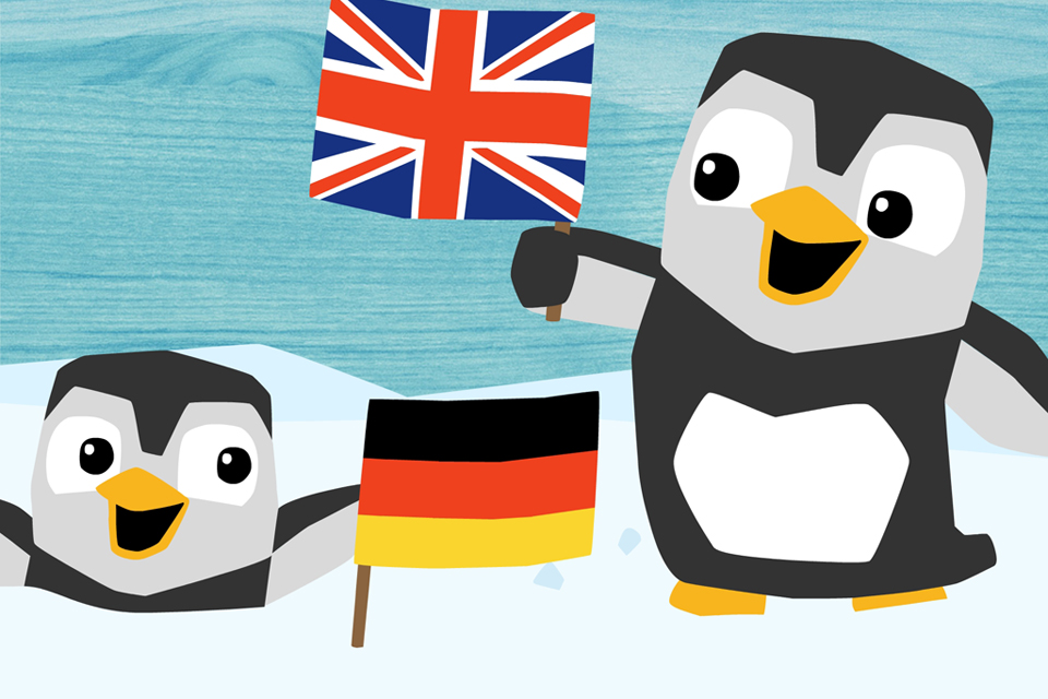 LinguPinguin - English German / Deutsch Englisch-1