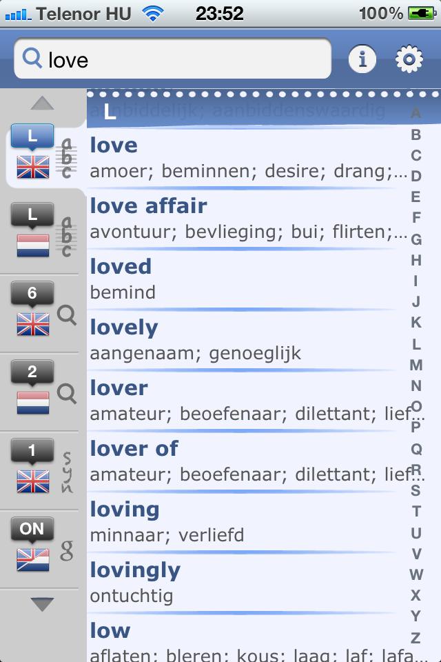 Dutch English Dictionary & Translator-1