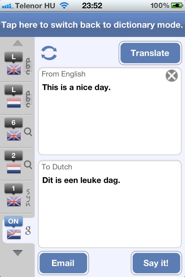 Dutch English Dictionary & Translator-3