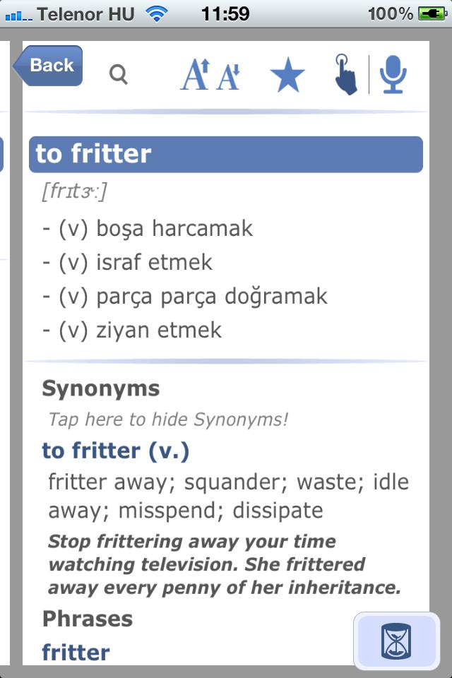 Turkish English Dictionary and Translator-8
