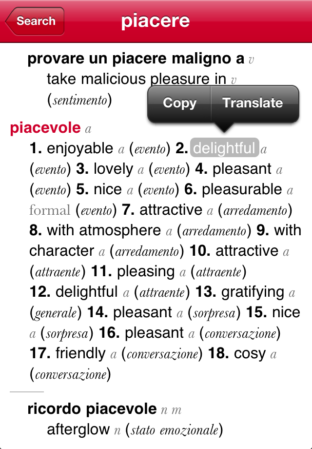 Italian-English Dictionary from Accio-3