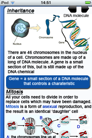 RevisionNerd Biology App - 2