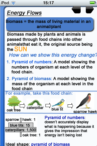 RevisionNerd Biology App - 3