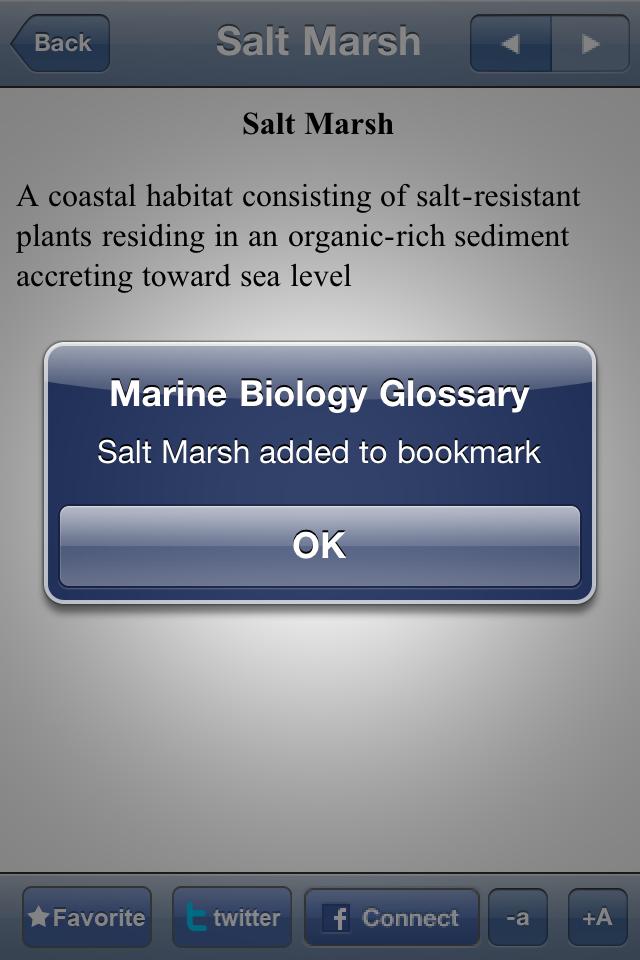 Marine Biology Glossary App - 3