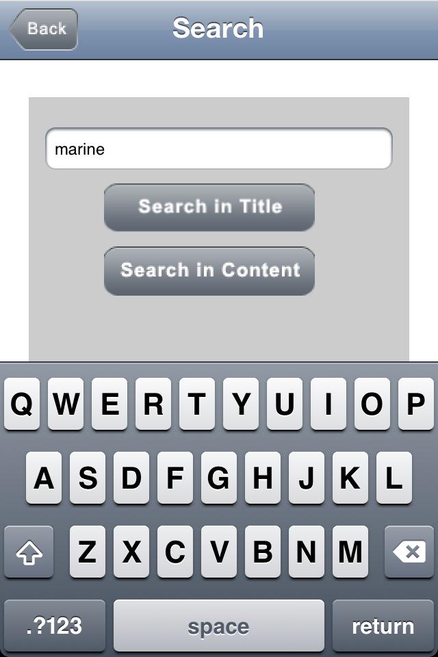 Marine Biology Glossary App - 5