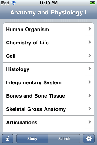 Anatomy and Physiology I-1
