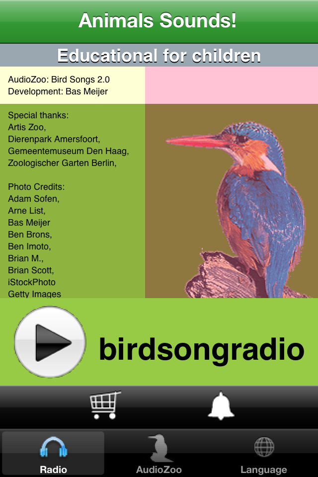 AudioZoo: Bird Songs