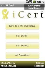 iCert AP Psych Practice Exam-1