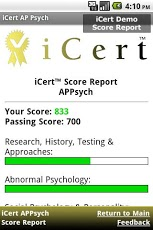 iCert AP Psych Practice Exam-3