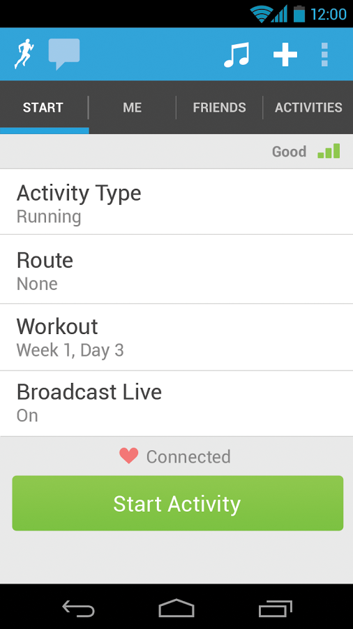 RunKeeper - GPS Track Run Walk App - 7