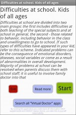 Difficulties at school. Kids-2
