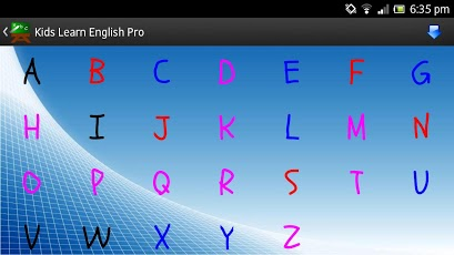 Kids Learn English Pro App - 2