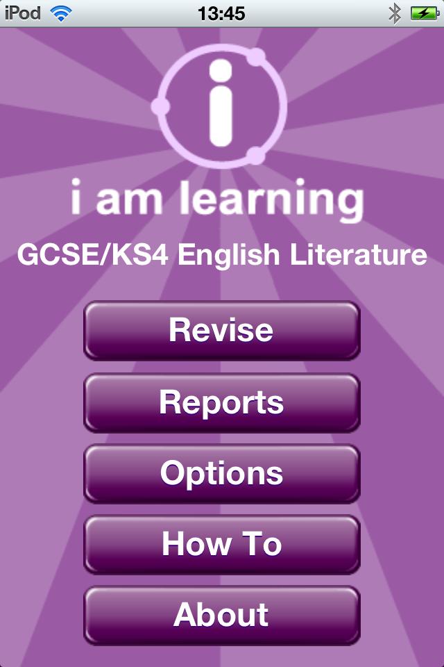 I Am Learning: GCSE English Literature-1
